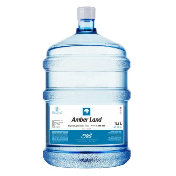 """Вода питьевая 18,9 л """"Amber Land"""""""